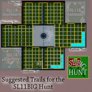 SL11BIG Hunt Trails Map v1.2