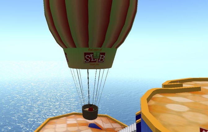 From the SL11B Hot Air Ballon